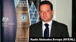 Амбасадорот на Обединетото Кралство во Македонија Кристофер Ивон.
