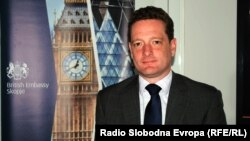 британскиот амбасадор во Македонија Кристофер Ивон