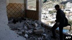 Pamje nga shtëpitë e shkatërruara të palestinezëve në pjesën lindore të Jerusalemit