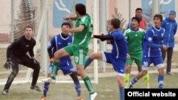 "Tajikistan,Sugh region, a football game betwen tajik teams ""Ravshan"" and ""Uroteppa"",27February2013"