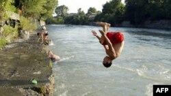 Река в самопровозглашенной республике Южная Осетия