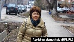Елена Линчевская, жительница города Алматы. 27 марта 2014 года.