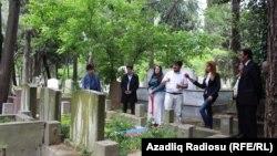 Əhmədbəy Ağaoğlunun İstanbuldakı məzarı