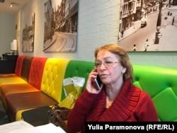 Ольга Ципуховская говорит с сыном