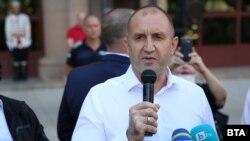 Бугарскиот претседател Румен Радев
