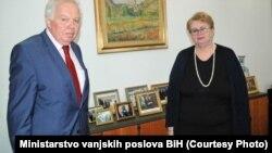 Petar Ivancov i Bisera Turković