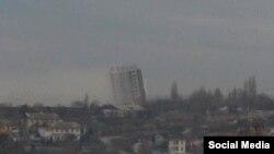 Недобудована 16-поверхівка у Севастополі, яку таки знесли