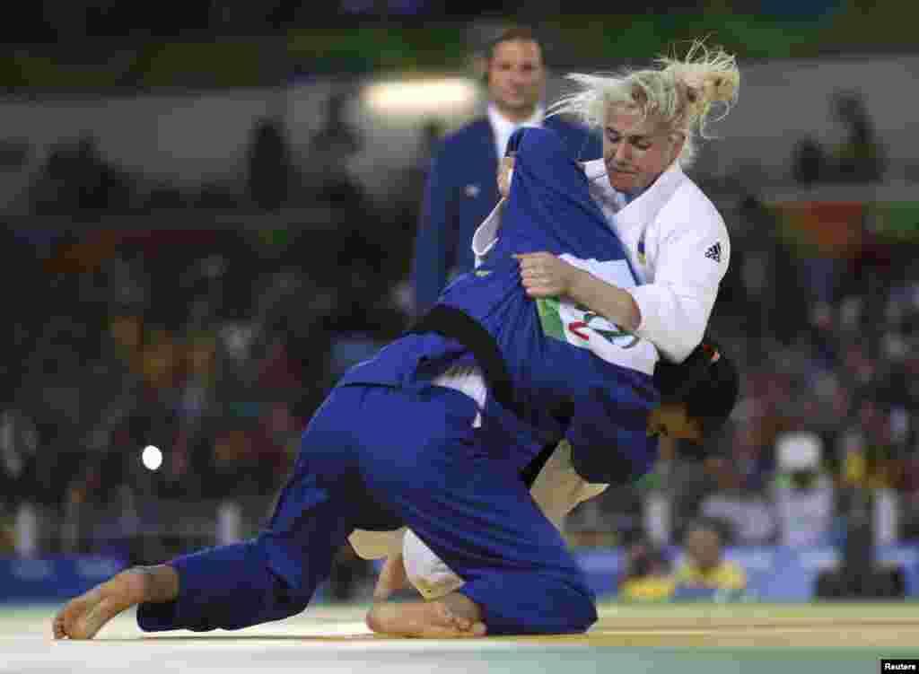 Інна Черняк, золота призеркаЛітніх Паралімпійських Ігор 2016 із дзюдо в категорії до 57 кілограмів