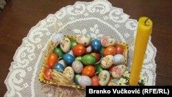 """""""Deci je uvek interesantno, za Uskrs dva puta farbamo jaja"""", kaže Marija Šaranac"""