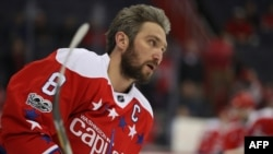 NHL star Alekandr Ovechkin (file photo)
