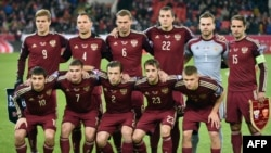 The Russian soccer team is not known for its ethnic diversity. (file photo)