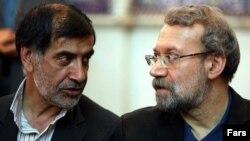 علی لاریجانی، رئیس و محمدرضا باهنر، نایب رئیس مجلس ایران