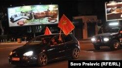 Milo Djukanovic-in qələbəsi bayram edilir