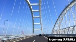 Мост в аннексированный Крым.