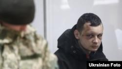 Станіслав Краснов під час засідання суду. Київ, 1 березня 2016 року