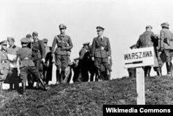 Немецкие военные в ходе польской кампании 1939 года