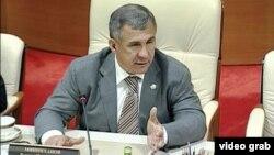 Թաթարստանի նախագահ Ռուստամ Միննիխանով