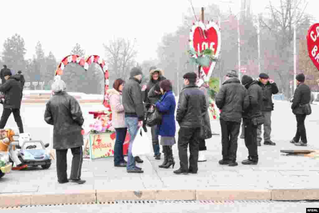 День Святого Валентина в Бишкеке #15