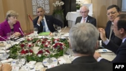 Белги -- G-7 лидерш бу саммитехь къамелаш деш, Манг4, 2014