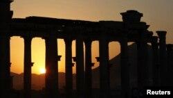 Սիրիա - Պալմիրա պատմական քաղաքի ավերակները, արխիվ