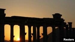 Сирия – Руины древнего города Пальмира (архив)