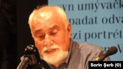 Romanian Writer Varujan Vosganian in Brno