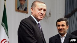 رجب طیب اردوغان در جریان سفر اخیر خود به تهران