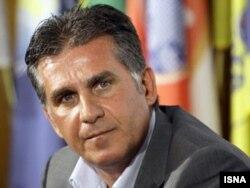 کارلوس کیروش، سرمربی تیم ملی فوتبال ایران.