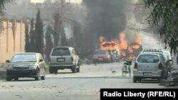 Наслідки нападу на офіс організації Save the Children у Джелалабаді, Афганістан, 24 січня 2018 року