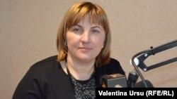 Liliana Palihovici, vicepreședinta PLDM și a Parlamentului, în studioul Europei Libere, Chișinău, 2016