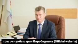 Мэр города Биробиджан Евгений Коростелев
