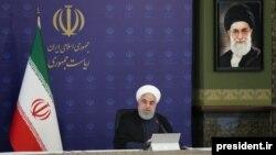 حسن روحانی در نشست روز چهارشنبه کابینهاش، آمریکا را به تروریسم درمانی متهم کرد.