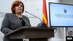 Архивска фотографија- Прес-конференција на обвинителката Катица Јанева