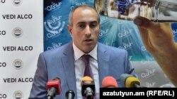 Заместитель министра юстиции Армении Сурен Крмоян, Ереван, 11 июля 2017 г․