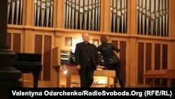 Концерт органіста Ризького Домського Собору Атіса Степіньша