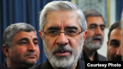 Iranian opposition leader Mir Hossein Musavi has been under house arrest for a year and a half.