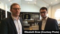 Shlomo Sajatz i Benjamin Kochan, foto: Elisabeth Braw