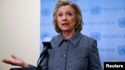 АКШнын мурдагы мамлекеттик катчысы Хиллари Клинтон.