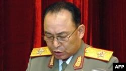 «ری یونگ هو»، فرمانده پیشین کل نیروهای مسلح کره شمالی.