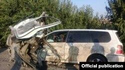 Бишкек-Ош жолундагы адам өмүрүн алган кырсыктардын. 20-июль, 2017-жыл.