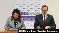 Cristina Lesnic şi Vitali Ignatiev