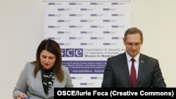 Кристина Лесник и Виталий Игнатьев