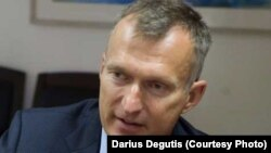 Darius Degutis, Lithuania's envoy for issues related to the Astravets nuclear plant. (file photo)
