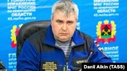Владимир Чернов, Кемерово облысы губернаторының бірінші вице-губернаторы. 26 наурыз 2018 жыл.