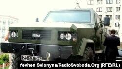 سيارة مصفحة أوكرانية الصنع