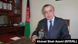 New York: Zahir Tanin, Ambassador and Permanent Representative of Afghanistan to the United Nations