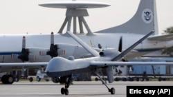 A U.S. Predator B drone