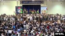 تظاهرات هواداران عبدالله عبدالله