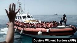Afrički migranti na putu ka Italiji