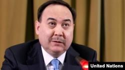 Казакъстан тышкы эшләр министры Ержан Казыханов